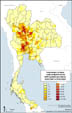 Subdistrict - Number of farms confirmedly infected by H5N1(positive)(GS)